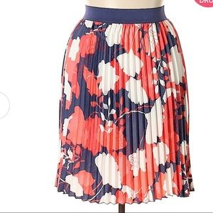 East Adeline Women Red Casual Skirt 4X Plus
